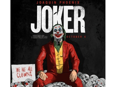 Joker- Alternative Movie Poster (Digital Art)
