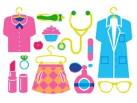 Icons for the Mindy Project