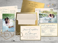Wedding Invitation Set for some friends of mine