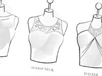 Neckline Style Description