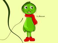"Cartoon character ""Kosmolupick"""