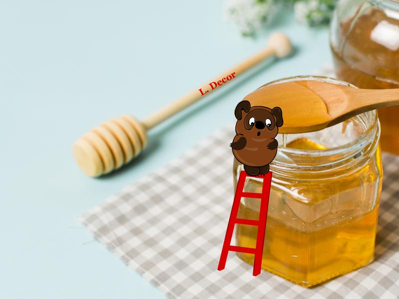 Winnie-the-Pooh vector illustration