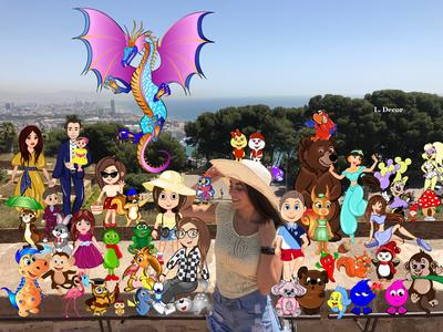 My cartoon characters