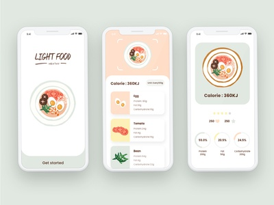 Light food APP