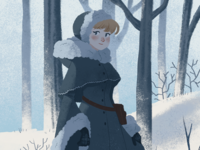 Winter Lady