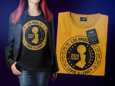 2020 Champions shirt design design shirt lakers