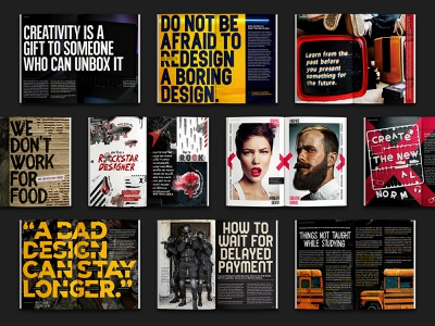 REFLUX: Design Magazine editorial magazine design magazine