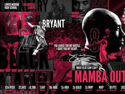 Mamba Mentality respect love art poster mambamentality blackmamba kobebryant freelance designer illustration branding designer