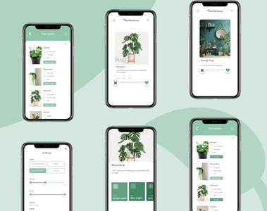 Take Me Home app - Design Slices challenge