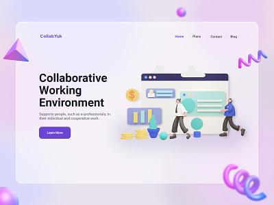 CollabYuk - Collaborative Landing Page
