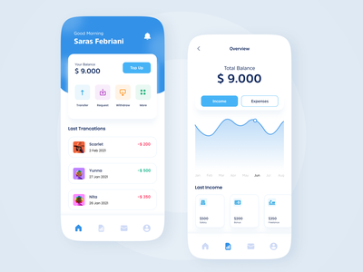Finance App uiux ux wallet ui wallet money financeapp app finance