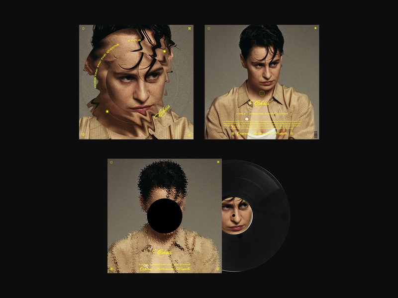 COVER - 5 dols - Christine and the Queens vinyl record cover vinyl design vinyl vinyl cover music music design cover artwork cover art vinylecover vinyle cdcover cover design