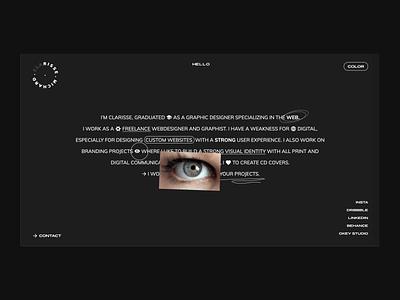 New personal website new ui  ux uidesign ux design webdesigner personal website personal brand web design website concept website design design ux uxdesign uiux homepage branding website ui ui design webdesign