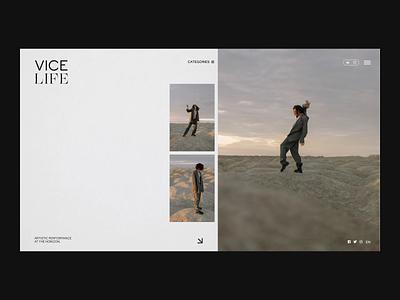 Vice, redesign concept website concept website design design uxdesign uiux branding website ui design ui webdesign