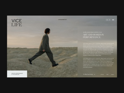 Vice, redesign website prototype animation website design prototype uxdesign uiux branding website ui design ui webdesign