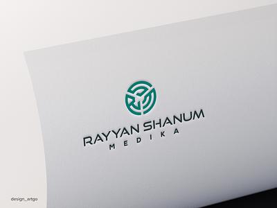 RSM lettermark vector ui illustration simple typography flat design minimal logo branding