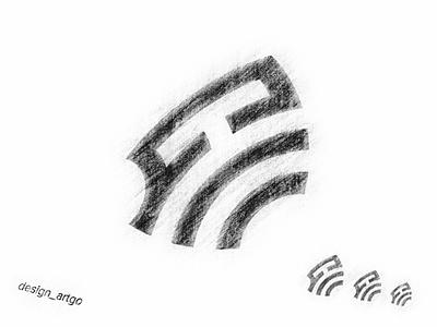 sketch mark best negativespace monogram vector ui simple typography flat design minimal illustration logo branding