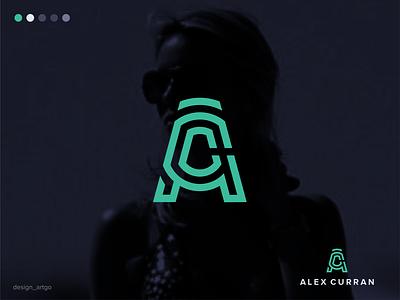 Alex Curran alexcurran vector ui illustration simple typography flat design minimal logo branding