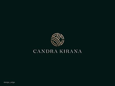 Candra Kirana, ck logo idea monogramlogo logos candrakirana kirana luxurylogo monogram vector ui illustration simple typography flat design minimal logo branding