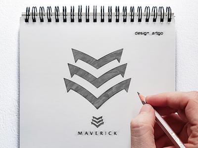 Letter M logo Sketch abstract letter logo consulting logo logogrid logoprocess logo sketch monogram vector ui illustration typography simple flat design minimal logo branding