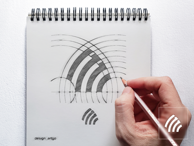Letter MI logo sketch vector ui illustration typography simple flat design minimal branding sketch monogram simple logo logos logo