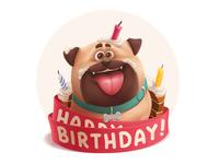 Gift Dog (for vk.com)