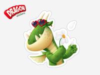 Dragon sticker (for ok.ru)
