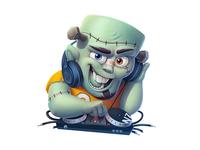 DJ Frankenstein (gift for vk.com)