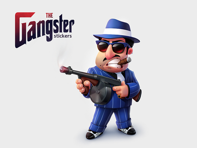 The Gangster stickers (for ok.ru)