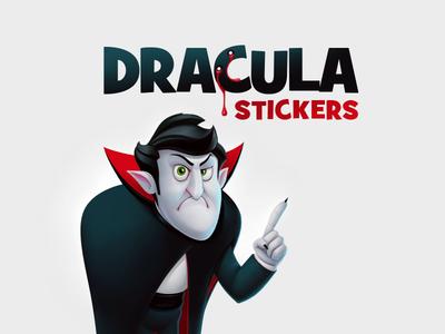 Dracula stickers (for ok.ru)