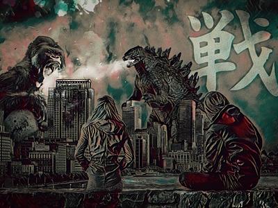 Battle graphic desig design fight battle