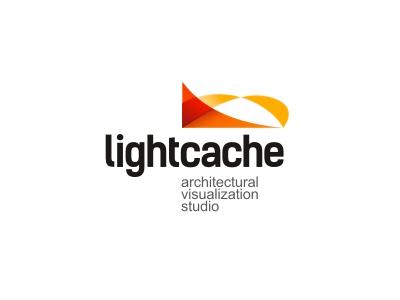 Lightcache logo light cache architectural visualization studio