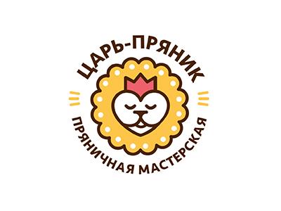 Tsar pryanik (rus) crown kitchen cake lion king tsar