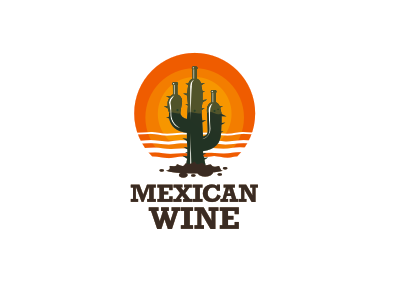 Mexican wine by stanislav stanovov dribbble for Mexican logos pictures