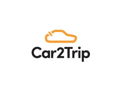 Car2Trip lap map track race auto car logo