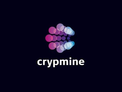 Crypmine logo money mining crypto