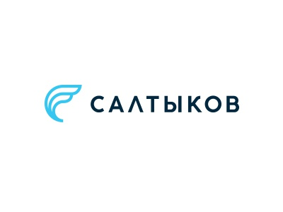 Saltykov (Салтыков) bird wing finance law logo
