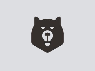 Bearbulb bear bulb unused logo