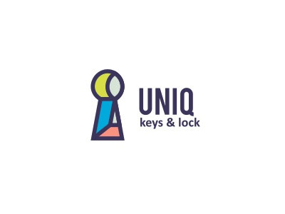 Uniq v.2 logo unique lock key shop