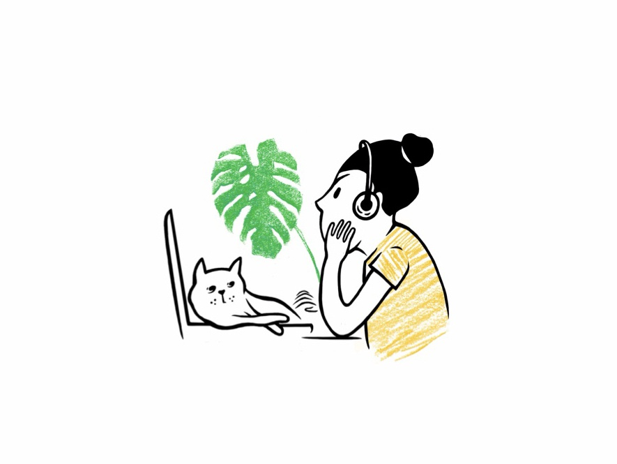 Illustration for an App illustration art minimalist vector hand drawn character illustration ui