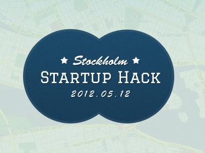 Stockholm Startup Hack Logo logo stockholm hack