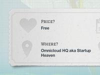 Stockholm Startup Hack Ticket