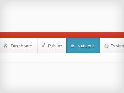 Mynewsdesk Menu menu tabs mynewsdesk
