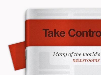 Mynewsdesk Concept paper news paper mynewsdesk pr red texture ribbon news thumbtacks