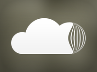 TextCloud Logotype - One color