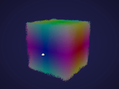 Webgl Particles With Noise