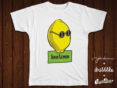 In every lemon, is hidden Lennon! john lemon lennon beatles t-shirt tee