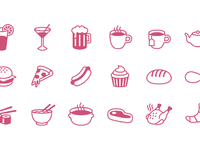 Foodicons dribbble all