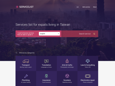 A directory of services for expats in Taiwan
