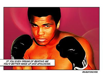 Muhammad thriller rumble heavyweight boxing champion fighter boxer muhammad ali